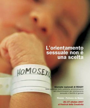 'Gay' baby triggers row