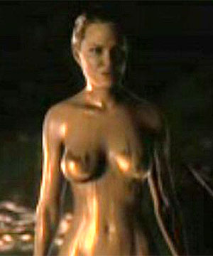 GOLDEN GIRL: Angelina Jolie has warned Brad Pitt about this nude scene in ...