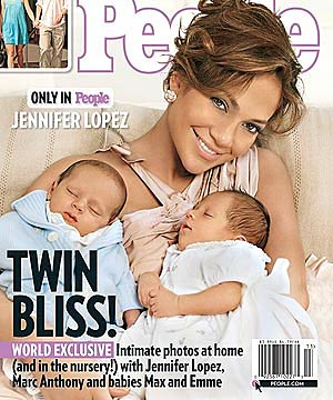 Jennifer Lopez Twin Babies Pictures