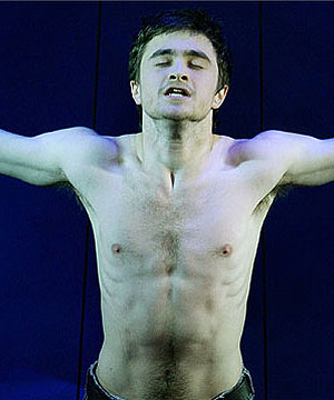 TAKE IT EASY: Daniel Radcliffe says his naked appearance in stage play Equus ...