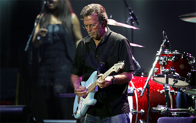 eric clapton live picture