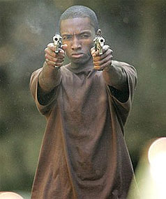 Jamie Hector as Marlo Stanfield in a scene from The Wire.