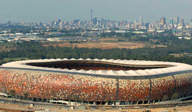 Soccer City by day