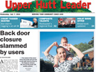 About the Upper Hutt Leader