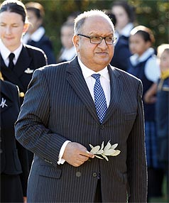 VICE-REGAL SALARY: The current governor-general, Sir Anand Satyanand, is paid $191,645 a year.
