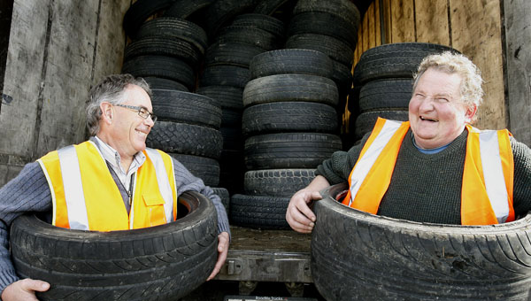 new Zealand tyre recycling