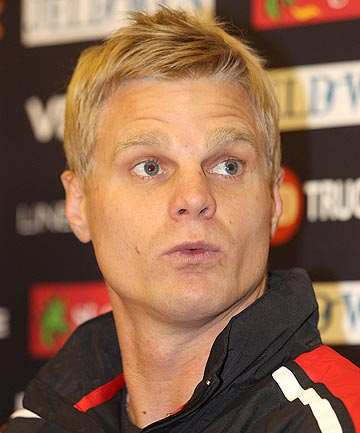 POSTED: A naked photo of St Kilda captain, Nick Riewoldt, was posted on ...