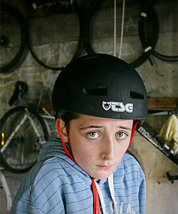 DIFFICULT LOSS: Zaq Muru, 13, is mourning the theft of his pedal gokart
