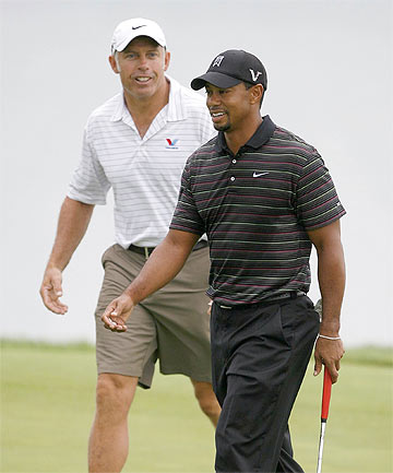 DREAM TEAM: Woods said on his website that the duo, who have enjoyed incredible success, won't be working together in the future.