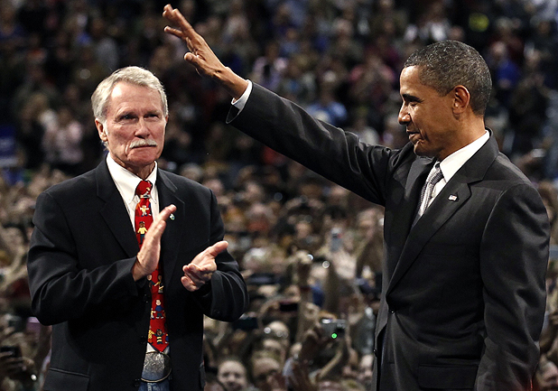 John Kitzhaber and Barack Obama