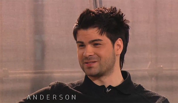 6137472 NET NASTY: Porn purveyor Hunter Moore appears on the Anderson Cooper show.