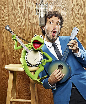 Kermit the Frog and Bret McKenzie