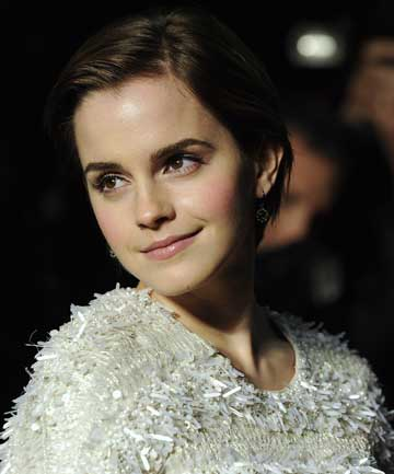 CAREFULLY DOES IT Emma Watson shies away from bold fashion choices