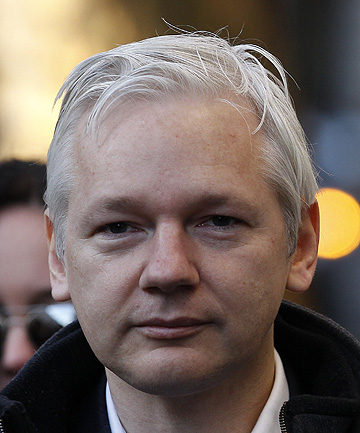 WIKILEAKS FOUNDER: Julian Assange.
