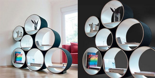 Circular shelves