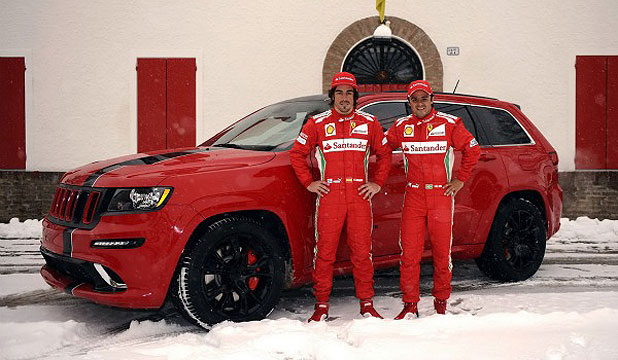 SRT8 Grand Cherokee Company Vehicles for Ferrari Race Drivers