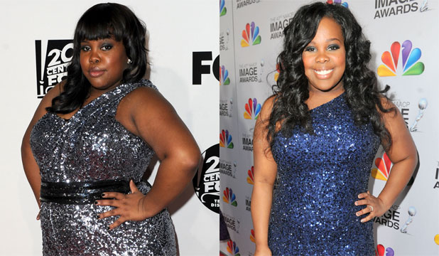 GLEE star wows with new figure