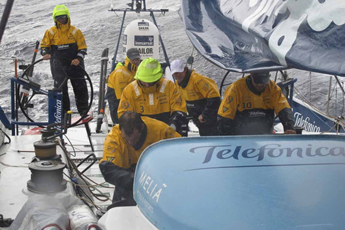 Volvo Ocean Race - Leg 4, Week 2