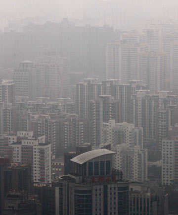 China's skies choked with smog
