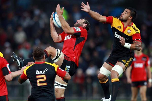 George Whitelock and Liam Messam