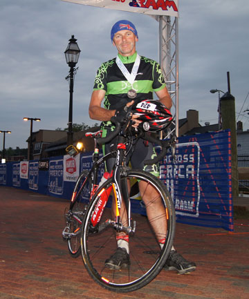 Ron at RAAM finish line last year