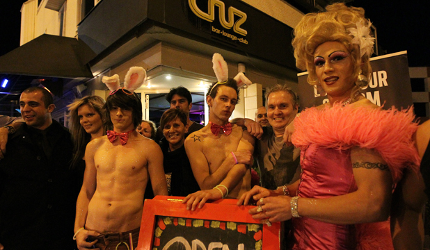 Straights have gay old time at nightclub. OLIVIA CARVILLE