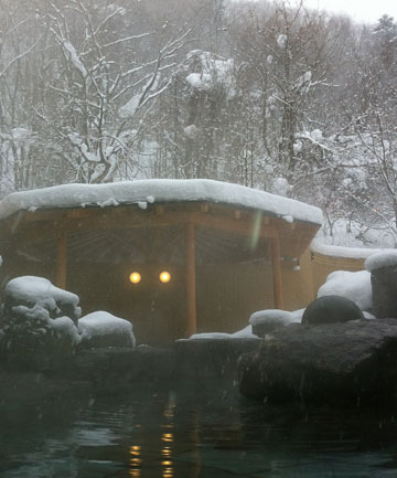 Hokkaido onsen