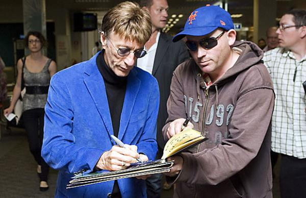 Robin Gibb in Christchurch
