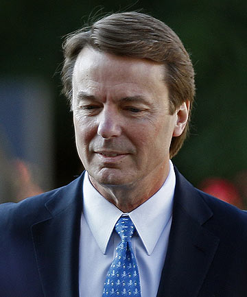 Former US presidential contender John Edwards.