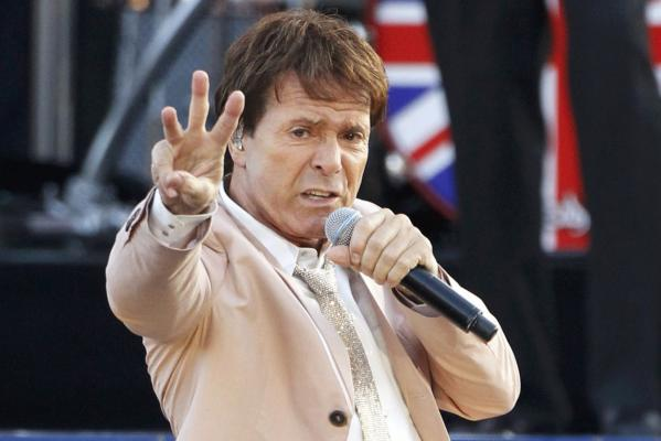 Singer Cliff Richard performs during the Diamond Jubilee concert in front of Buckingham Palace in London.