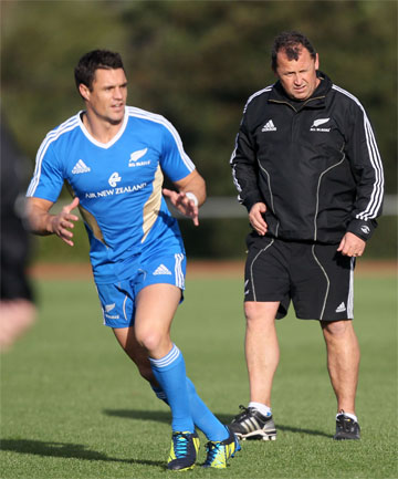 Ian Foster and Dan Carter