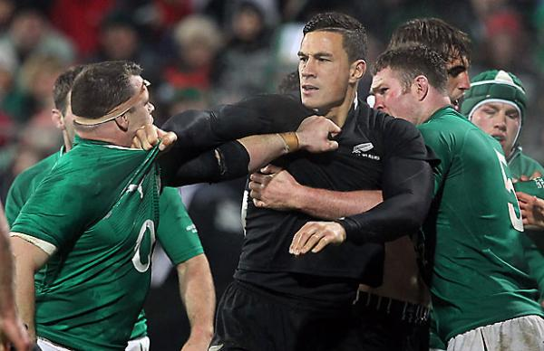 Cian Healy and Sonny Bill Williams.