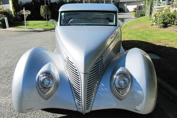 John Hewson's 1939 Ford Coupe.
