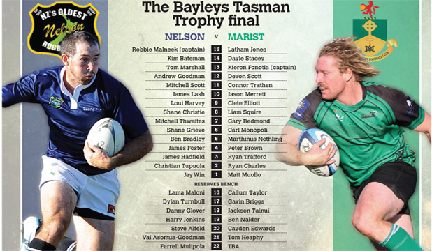 Bayleys Tasman Trophy final