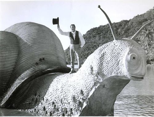 Dr Dolittle and the giant snail