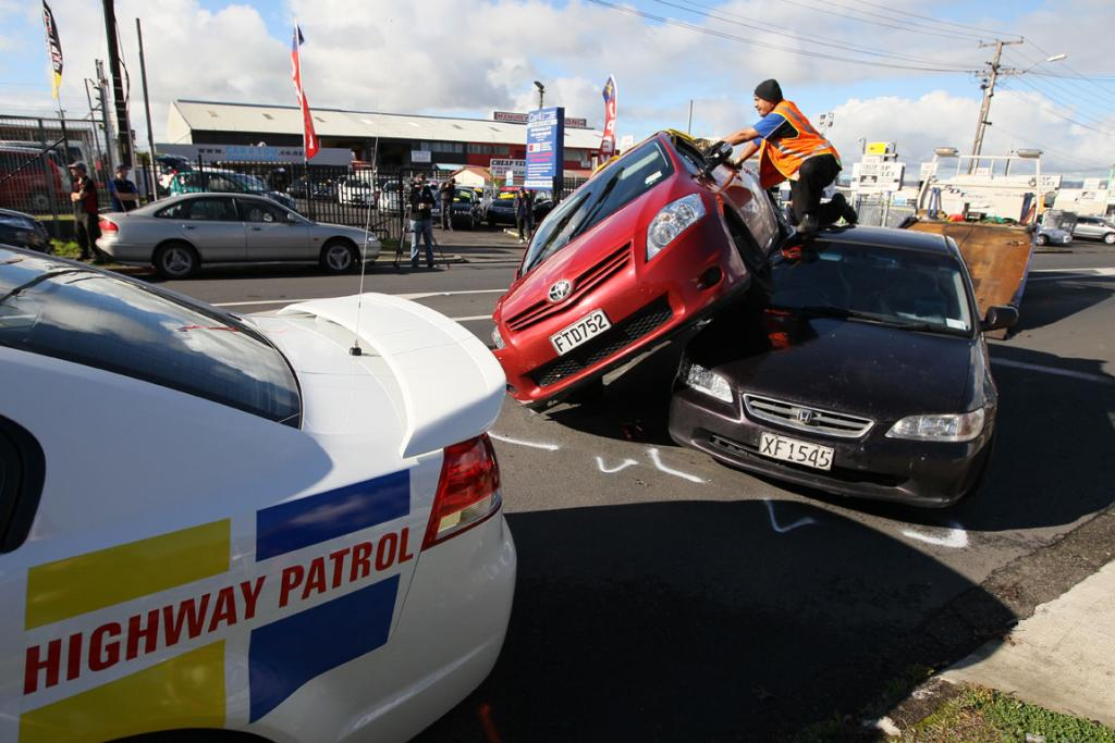 Manurewa Crash