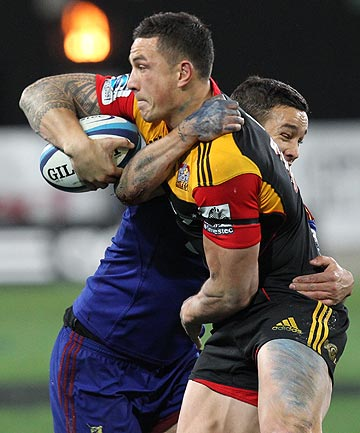 Sonny Bill Williams and Tamati Ellison