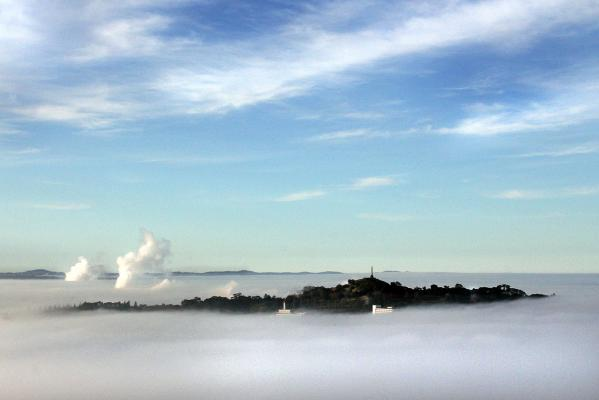 Auckland fog