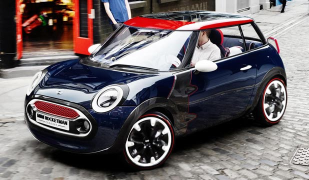 Mini Rocketman: Likely to be a member of the new ten-Mini line-up.