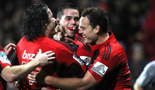 Zac Guildford, Sean Maitland and Israel Dagg