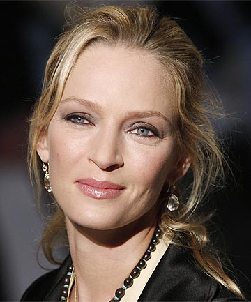 STALKED: A man serving probation for stalking actress Uma Thurman is back in jail.