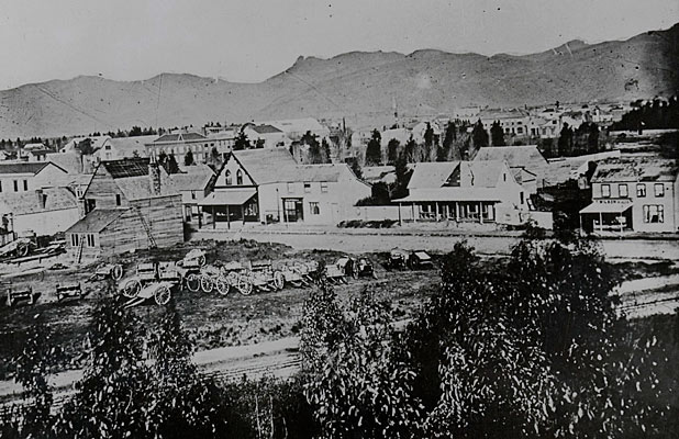 Christchurch mid-1860s