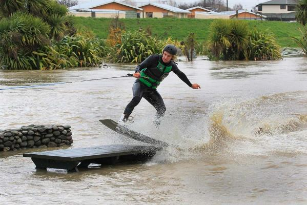 Winch wakeboarding