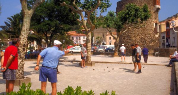 Petanque is a classic French pastime.