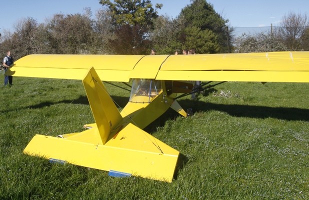 Motueka plane crash