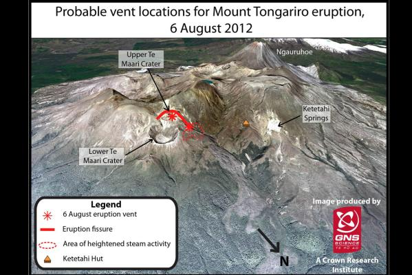 Tongariro steams