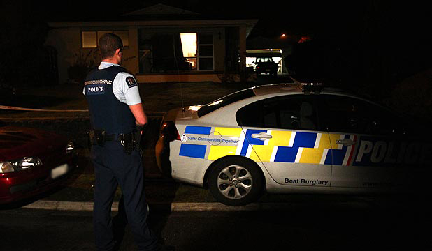 SUDDEN DEATH: Hamilton police were called to a Dinsdale property overnight where Laura Marston's ex-boyfriend was trespassing and later died.