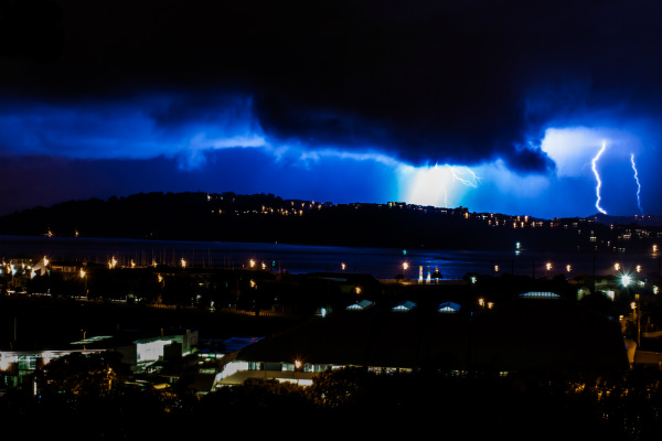 Lightning in Wellington