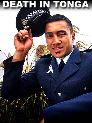 A New Zealand police officer has died after he was allegedly assaulted in Tonga.
