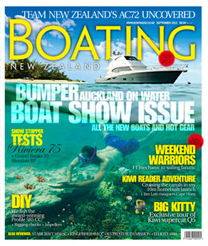Boating NZ September 2012 Cover